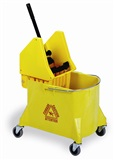 on sale!! 44 quart bucket with down press wringer