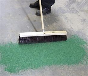 Green Sweeping Compound