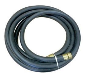 50' Hot Water Supply Hose with Brass Fitting