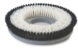 Nylon Bristle Showerfeed Carpet Shampoo Brush 17""