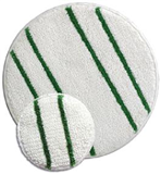 Scrubber Green/White Carpet Bonnet 17""