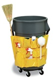 32, 44 & 55 Gallon Round Receptacles & Accessories