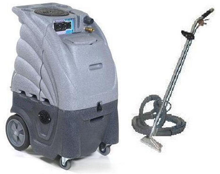 Sandia Sniper Heated Carpet Extractor 80 2100H Complete With Wand And Hose  Kit