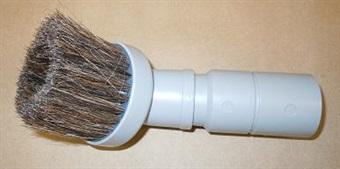 "3"" Round Dust Brush with Adapter"