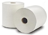 #800 Natural White Roll Towels