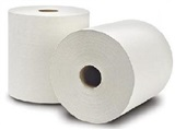 "10"" Premium White Roll Towel"