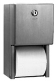 #B-2888 Dual Roll Stainless Steel Toilet Tissue Dispenser