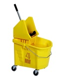 35 quart bucket with down press wringer